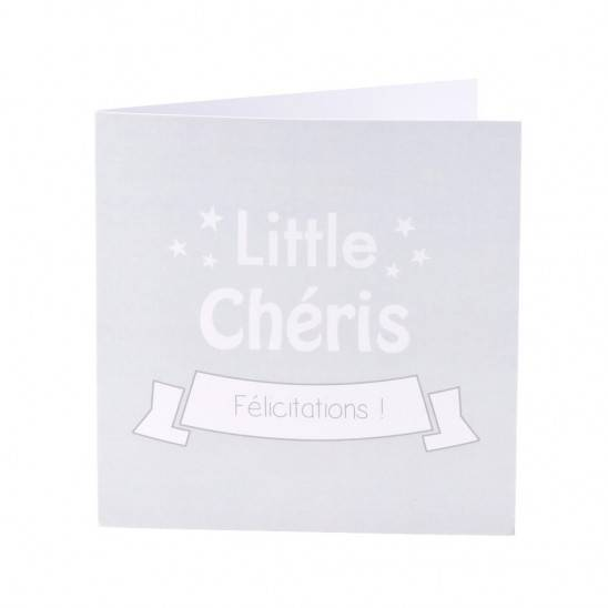 Carte de Félicitations - GRIS