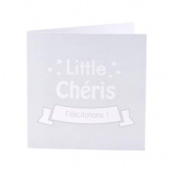 """Panier """"box 4"""" 4 articles - GRIS étoilé"""