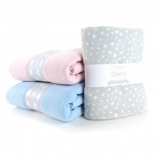 Couverture bébé disponible en 3 couleurs