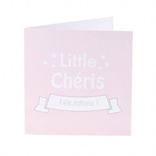 "Panier ""Chéris"" 7 articles - ROSE"