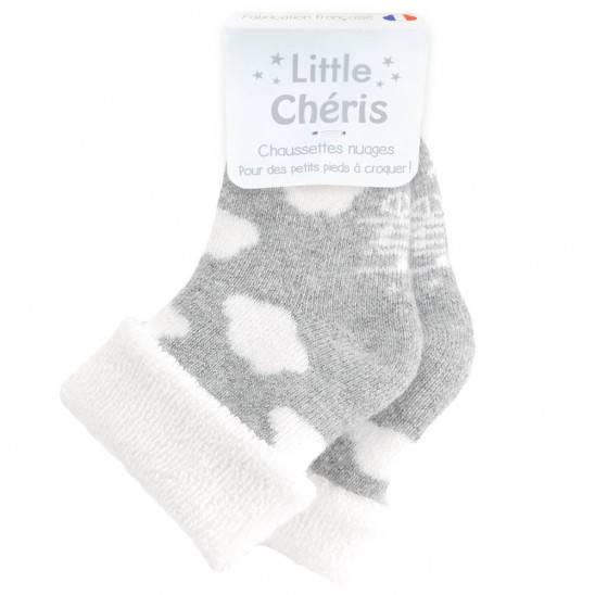 Chaussettes Nuage - GRIS
