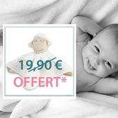 Le verdict est tombé hier, vous ne pourrez malheureusement pas rencontrer les bébés nés récemment ni leur acheter un cadeau en boutique avant un moment ... • Pour vous aider à féliciter les parents et gâter les bébés pendant cette période, nous vous offrons* un Doudou Mouton d'une valeur de 19,90€ ❤️😷. • • «Envoyez-leur tout votre amour !»  • • * Offre valable jusqu'au 28 avril 2020 inclus pour toute commande à partir de 50€ttc d'achat hors frais de port, hors Compte Pro et non cumulable avec un autre code promo.